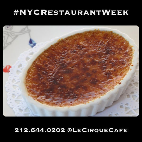 Join us for #NYCRestaurantWeek! Delicious 3-course lunch $25 / dinner $38 per person M-F. Ends Aug. 15th.