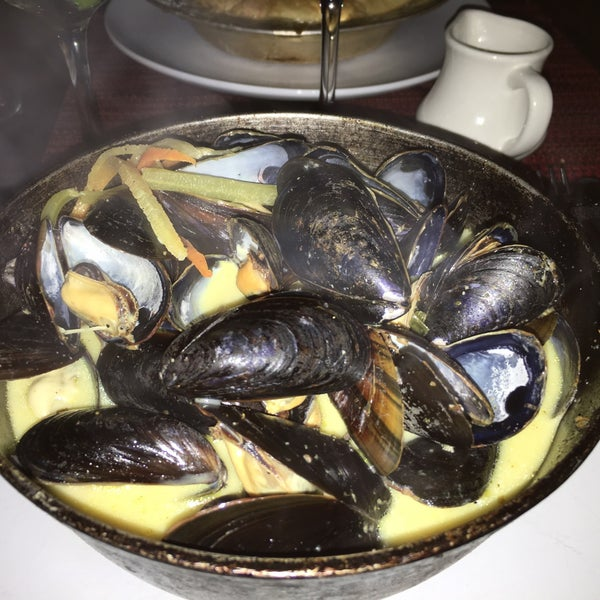 Mussels, coconut curry!