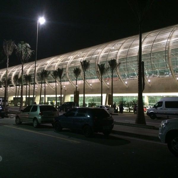 Снимок сделан в Aeroporto Internacional de Natal / São Gonçalo do Amarante (NAT) пользователем Luis Alberto A. 6/6/2014