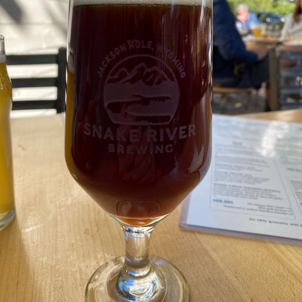Das Foto wurde bei Snake River Brewery & Restaurant von Mike V. am 9/9/2020 aufgenommen