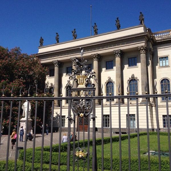 5/3/2014에 Hans L.님이 Humboldt-Universität zu Berlin에서 찍은 사진