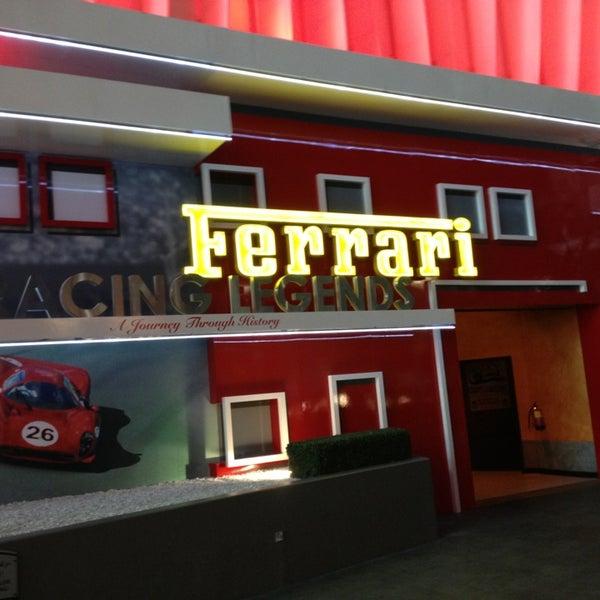 Photo taken at Ferrari World Abu Dhabi by Nikita G. on 6/2/2013