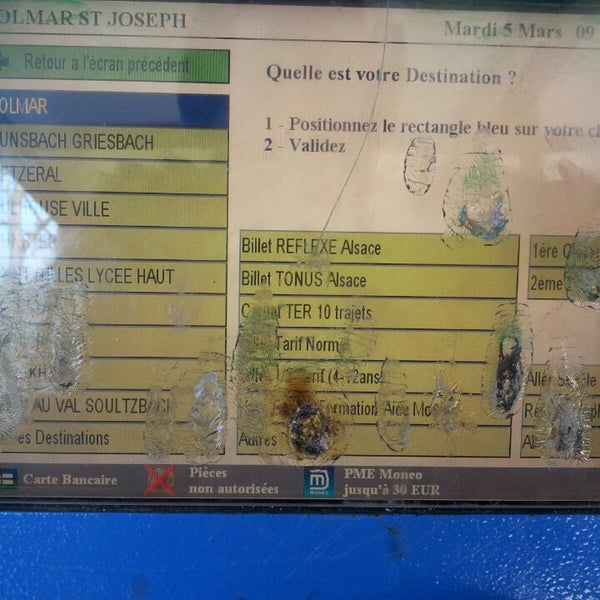 Carte Reflexe Alsace Sncf.Photos At Gare Sncf De Colmar Saint Joseph Colmar Alsace
