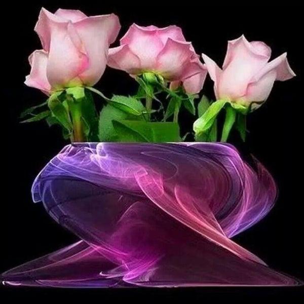 Красивые вечерние цветы для любимой женщины, картинки нарисованные смешные