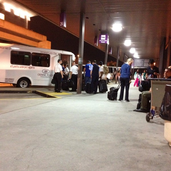 Photo Taken At Atlanta Airport Hotel Shuttles By Kirby D On 7 22