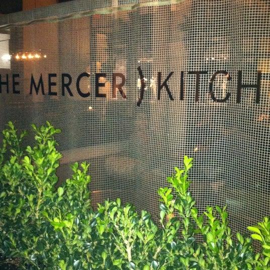 Foto tomada en Mercer Kitchen por Arik H. el 11/22/2012