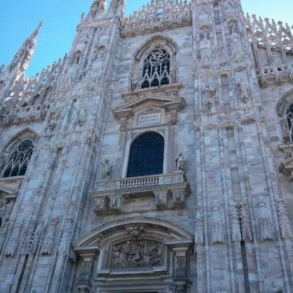 Photo prise au Dôme de Milan par Michele Ancheiohoilnomeinmezzo G. le6/11/2013