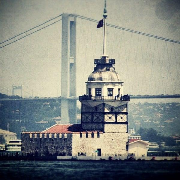 7/10/2013 tarihinde Elçin B.ziyaretçi tarafından Kız Kulesi'de çekilen fotoğraf