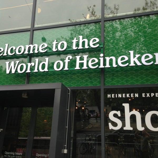 Das Foto wurde bei Heineken Experience von Diego M. am 6/20/2013 aufgenommen