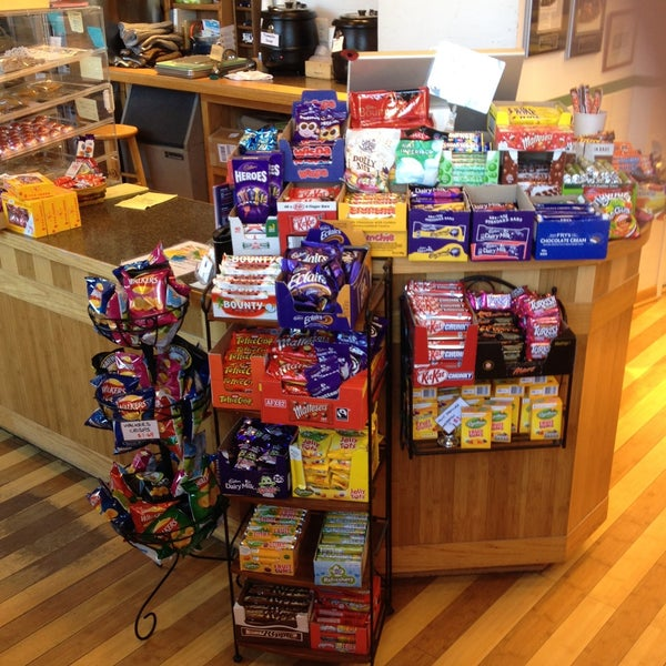 Caburys Chocolate and lots of it, all genuine British imports. Available at Pure Pasty in Vienna. Don't let Hershey win, eat genuine Cadbury!