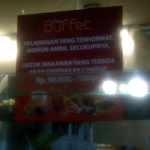 Photos at the Buffet - Plaza Semanggi Lantai 3A - Jakarta