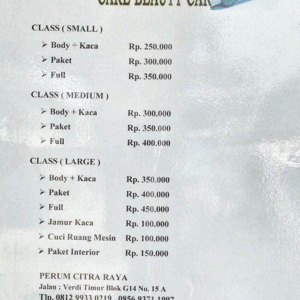 Photos At Duta Salon Mobil Car Wash In Tangerang