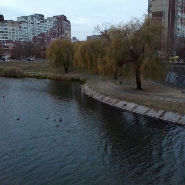 รูปภาพถ่ายที่ Троєщинський канал โดย Татьянка Ш. เมื่อ 11/17/2014