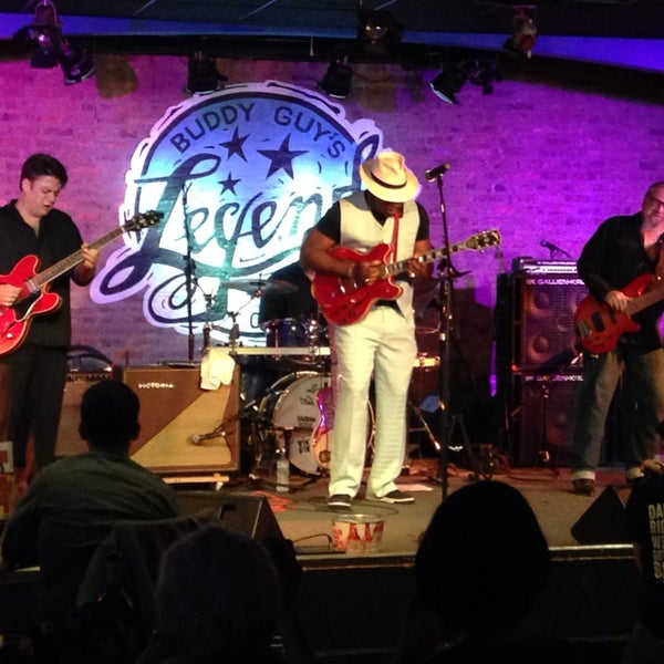 Foto tirada no(a) Buddy Guy's Legends por raeraebabycakes em 10/4/2014