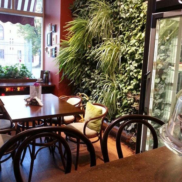 Photo taken at Tea & Coffee garden by Elīna S. on 10/5/2013