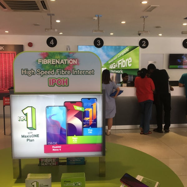 8af781134cf Photo taken at Maxis Center Ipoh by Andrew D. on 3 28 2019