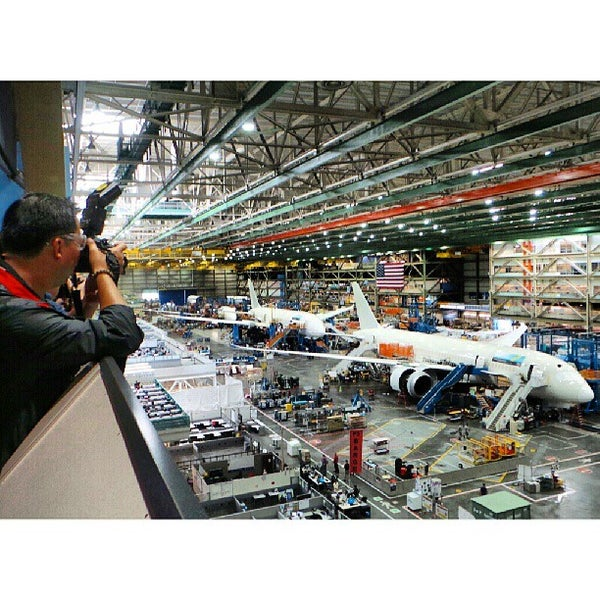 Photos at Boeing Everett - Everett, WA