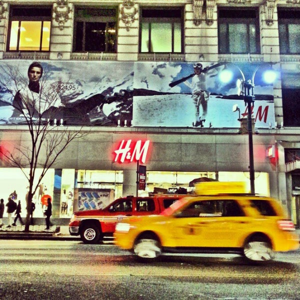 H M Clothing Store In New York