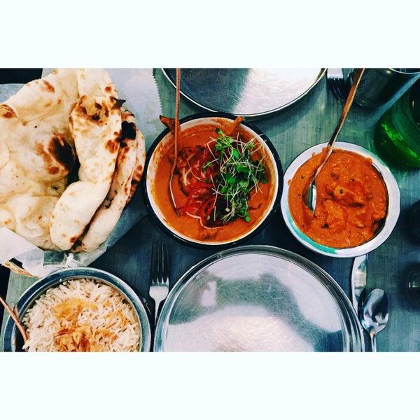 Duck curry & butter chicken