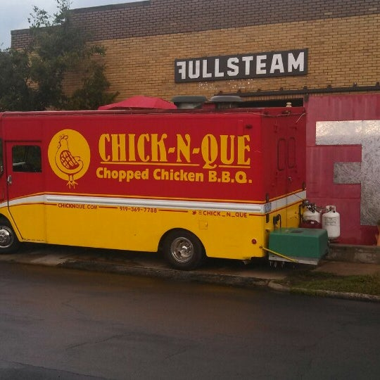 Chick N Que Food Truck In Southwest Raleigh
