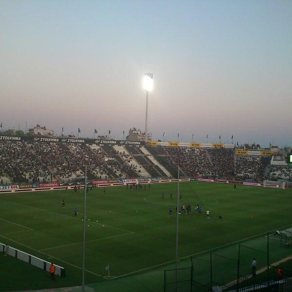 รูปภาพถ่ายที่ Toumba Stadium โดย George P. เมื่อ 7/23/2013