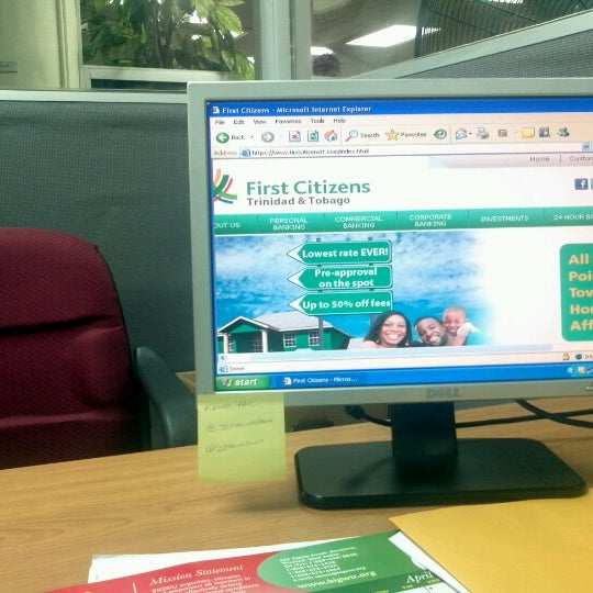 first citizens trinidad and tobago online banking