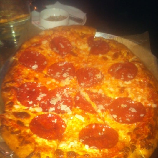 Photo taken at Lucky Pie Pizza & Tap House by Gavin O. on 10/20/2012
