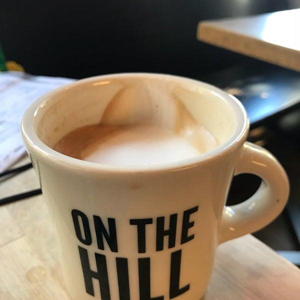 Foto diambil di On the Hill Cafe oleh Mark B. pada 10/21/2017