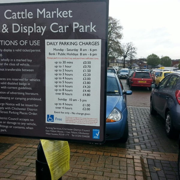 Photos At Cattle Market Car Park Parking In Chichester