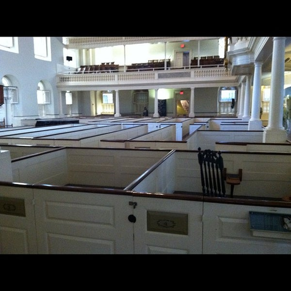 10/22/2012 tarihinde Folk L.ziyaretçi tarafından Old South Meeting House'de çekilen fotoğraf