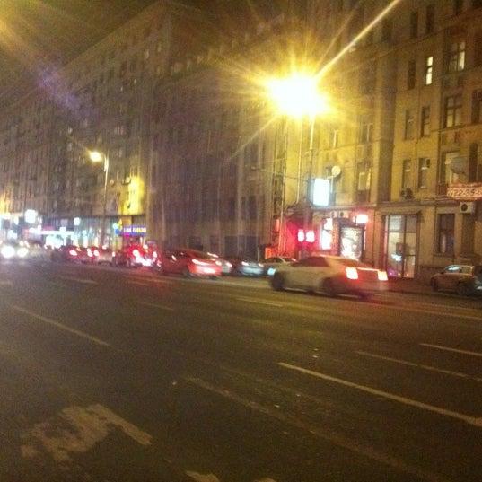 фото улицы зимой тверская ямская ночью если