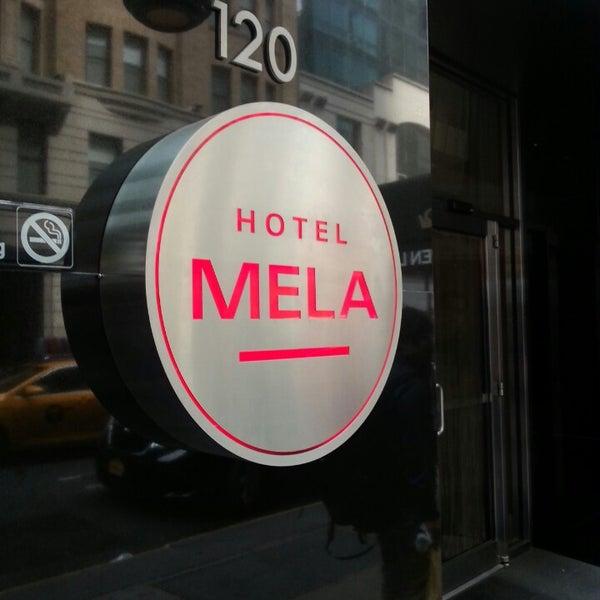Снимок сделан в Hotel MELA пользователем LaNiE C. 9/10/2013