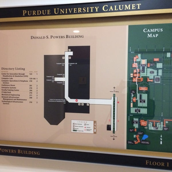 purdue calumet campus map Photos At Purdue University Calumet Powers Building College purdue calumet campus map