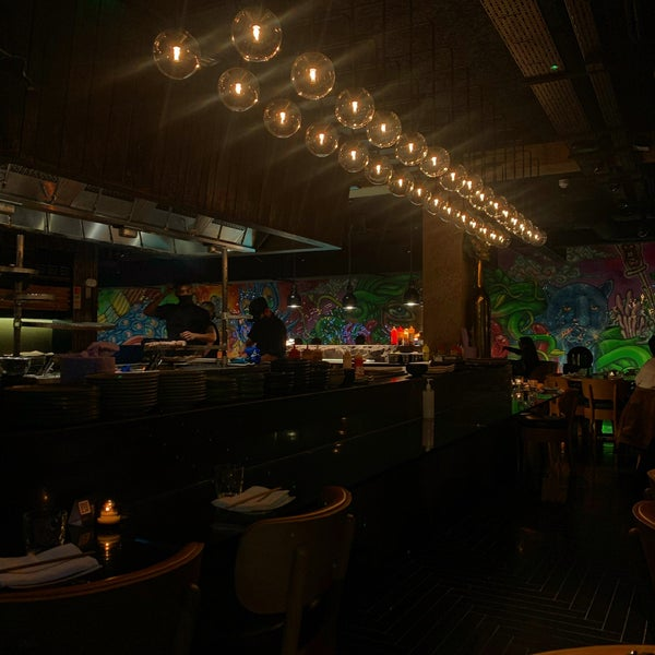 The sushi was really good and the environment is pretty
