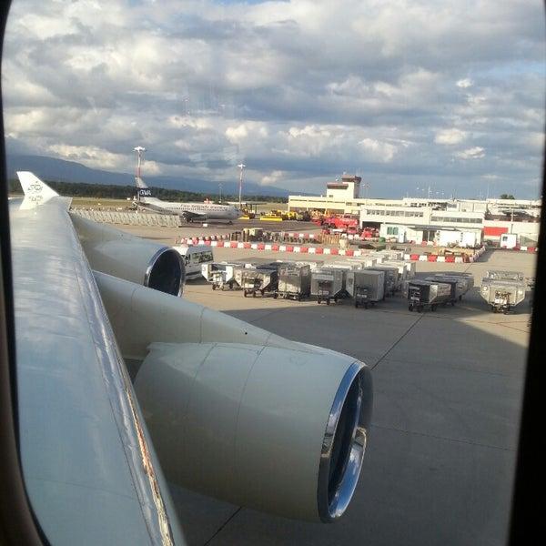 Photo prise au Aéroport de Genève Cointrin (GVA) par Naief Hussam A. le8/25/2013
