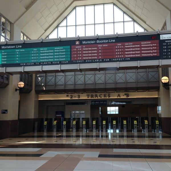 NJT - Frank R  Lautenberg Secaucus Junction Station - Train