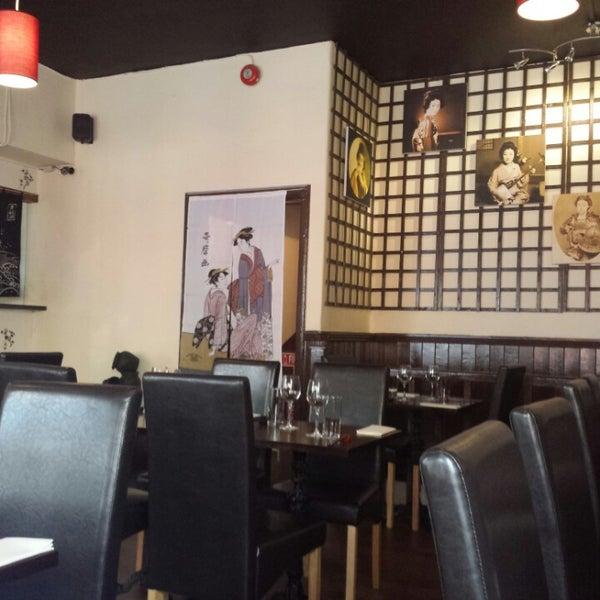 6/30/2013 tarihinde Nicholas T.ziyaretçi tarafından Banyi Japanese Dining'de çekilen fotoğraf