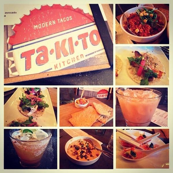 3/14/2014 tarihinde Leah J.ziyaretçi tarafından Takito Kitchen'de çekilen fotoğraf