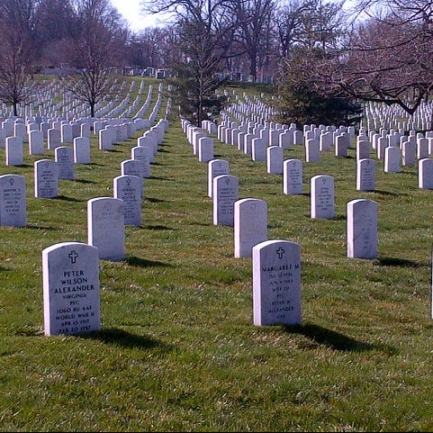 Photo prise au Arlington National Cemetery par Kassia B. le4/5/2013