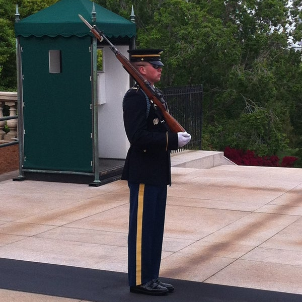 Photo prise au Arlington National Cemetery par Prithvi le5/10/2013