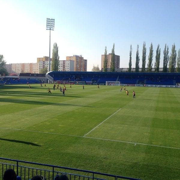 Foto tirada no(a) Štadión FK Senica por Pali K. em 4/12/2014