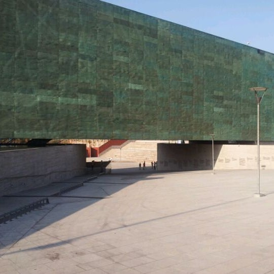Foto diambil di Museo de la Memoria y los Derechos Humanos oleh Nicolás M. pada 1/20/2012