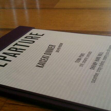 Снимок сделан в Departure пользователем Portland Bars 5/5/2011