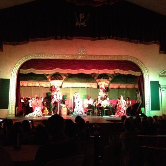 Foto tomada en Tablao Flamenco El Palacio Andaluz por Mabelle C. el 5/2/2012