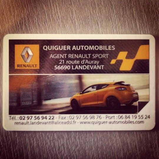 Photos At Garage Renault Quiguer Automobiles Automotive Shop In