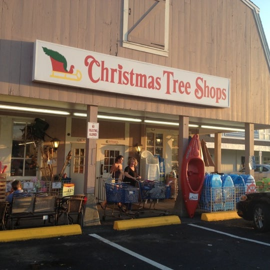Christmas Tree Shop Hours.Christmas Tree Shops Gift Shop In West Yarmouth