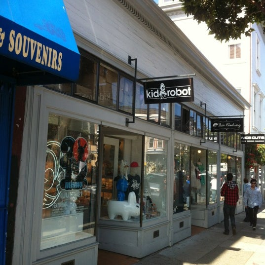 KIDROBOT (Now Closed) - Toy   Game Store in San Francisco 7e714be8aba