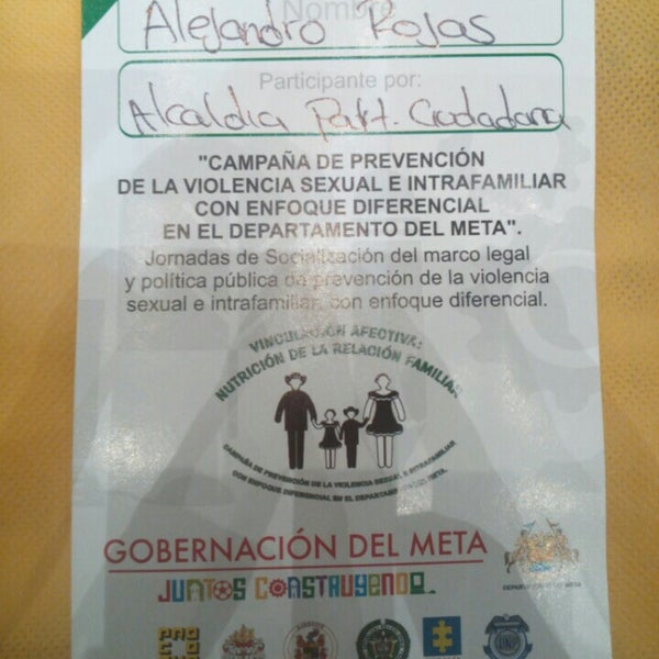 Photo prise au GHL Grand Hotel Villavicencio par Alejandro R. le7/10/2015