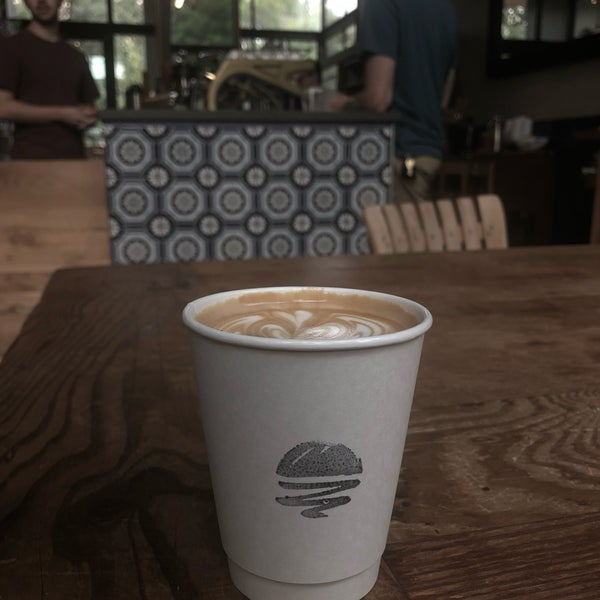 Oh man this cappuccino is good. Rich espresso and creamy milk. Well done Austin.