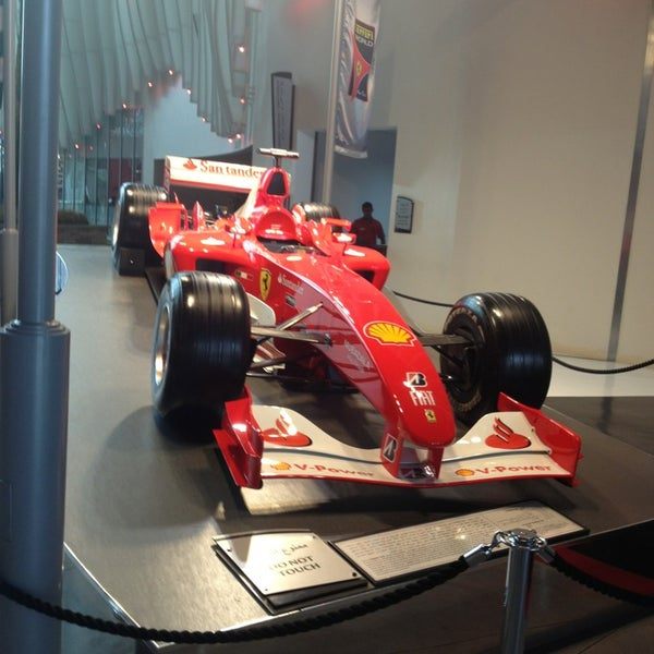 Photo prise au Ferrari World Abu Dhabi par Baggio le7/16/2013